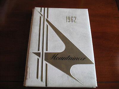 1962 Beall High School Yearbook Frostburg MD The Mountaineer