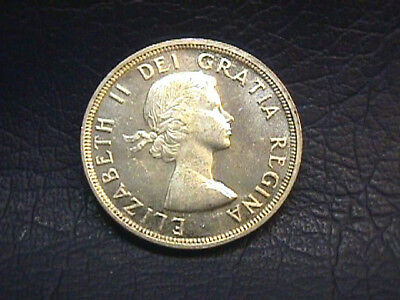 Canada 1953 Silver Dollar In Uncirculated Condition. Km#54. Free Shipping.