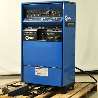 Miller Syncrowave 351 AC/DC Welder with Pulser option and RFCS-14 Foot Control