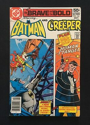 The Brave And The Bold #143! Creeper Appearance! 1978! Fn-! Dc Comics!