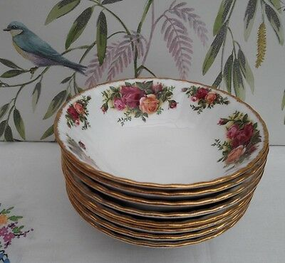 """Royal Albert """"Old Country Roses"""" 16cm Cereal Bowls ***5 Available*** IMMACULATE"""