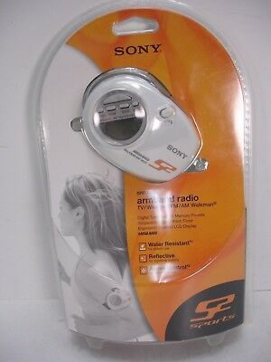 sony s2 sports armband radio srf m85v tv weather fm am walkman new rh picclick com