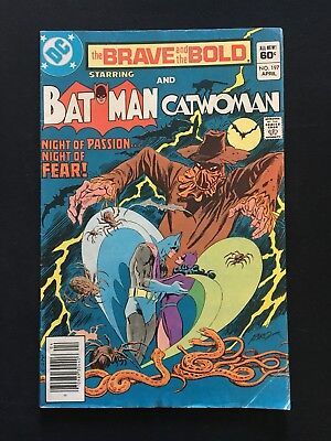 The Brave And The Bold #197! Catwoman & Scarecrow Appearance! 1983! Vg/fn!