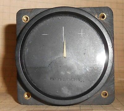 Vintage US Military Aircraft Instrument Panel Cockpit Gauge : WWII Korea Vietnam