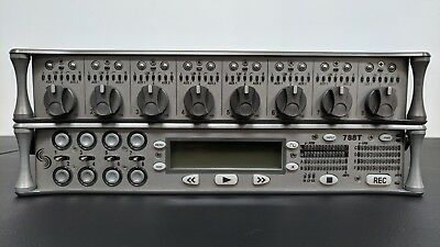 Sound Devices 788T/CL-8 digital time code recorder, Portabrace ATV + MORE