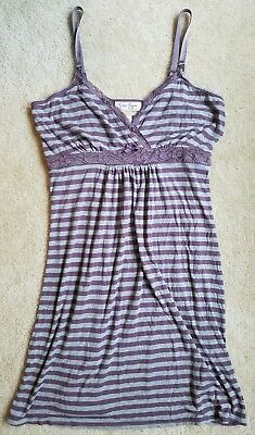 Jessica Simpson Nursing Maternity sleepwear lounge night gown lacy