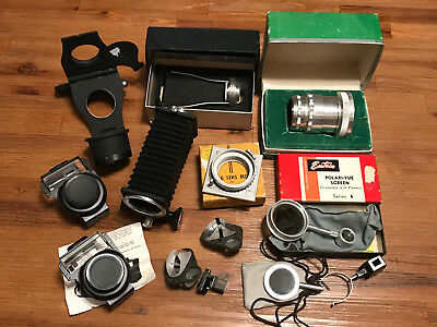 Lot Of Vintage Accessories For Cameras