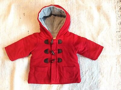 Purebaby Hooded Padded Jacket Duffle Coat 00 (3-6 months)