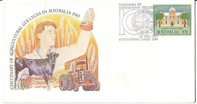 "1983 PictPMK. Centenary of Agricultural Colleges in Australia. ""ROSEWORTHY"""