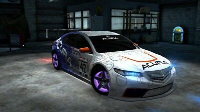 RACING RIVALS VAULTED Acura TLX GT Maxed Rating Cheap - Cheap acura