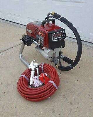 Titan 440 Impact Electric Airless Paint Sprayer,,speeflo,,Spraytech,,540,640,740