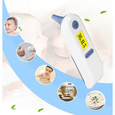 Latest Dual Mode Digital Medical Forehead Ear Thermometer for baby adults Hot 1x
