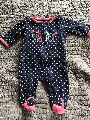 Infant Girls Sleeper Size 3 Months