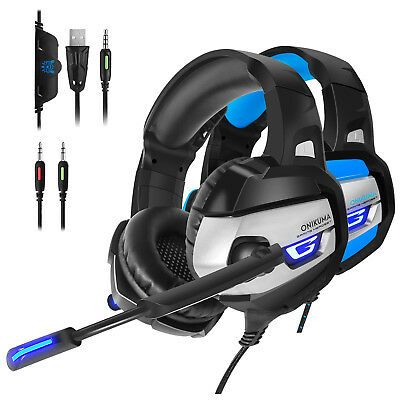 ONIKUMA K5 Gaming Headset Headphone Headband With Microphone For PC Xbox One PS4