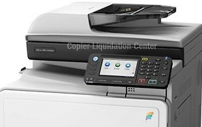 Ricoh MPC 305spf Color Copier Scanner Fax Printer. Speed 31 ppm. LOW METER