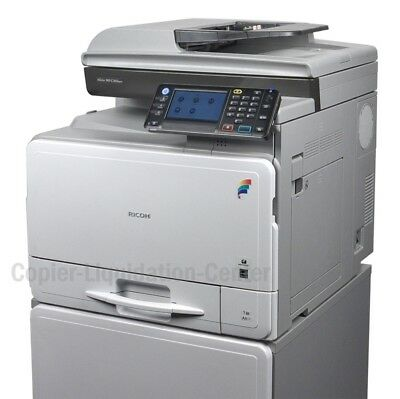 Ricoh MPC 305spf Color Copier Scanner Fax Print i. Speed 31ppm. LOW METER
