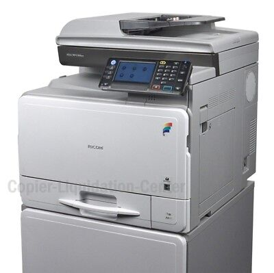 Ricoh MPC 305spf Color Copier Scanner Fax Printer. Speed 31ppm. LOW METER .a
