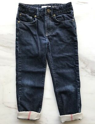 Pre-owned Burberry Kid Jeans Size 6Y 116cm