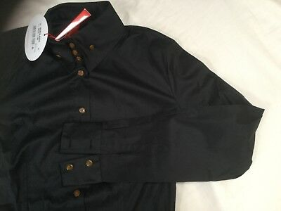 a379e3b11c64 Womens Black Krall Vivienne Westwood Shirt Made in Italy IT 42 includesVW  hanger