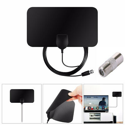 Digital Freeview 1080P HD HDTV Indoor TV Antenna With Amplifier Signal Booster
