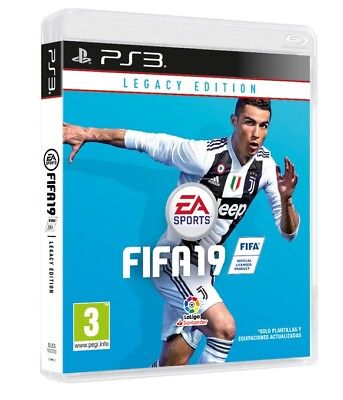 Videogioco Fifa 19 Legacy Edition Ps3 Italiano Game Fifa 2019 Play Station 3 Pal