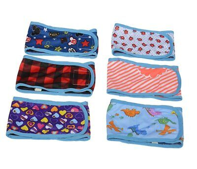 4 Dog Belly Bands Male Dog Diaper Washable Reusable for Pet Dog Diapers Pants
