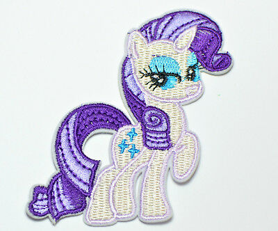 Bügelbild, Applikation, Aufnäher, Patch, My little Pony, Rarity,