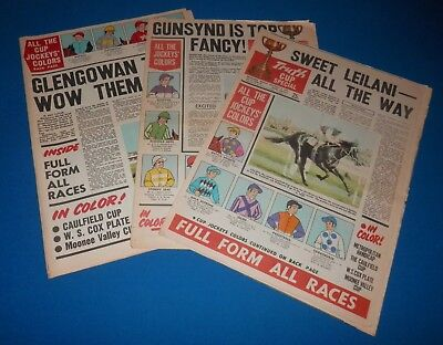 Truth 1972/73/74 Melbourne Cup Special x3 - Piping Lane, Gala Supreme, Think Big