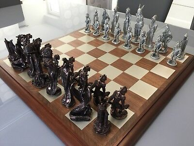 Edles Schachspiel Herr Der Ringe Selten, Lord of the Rings Chess Set
