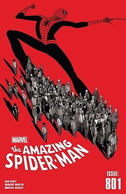 AMAZING SPIDER-MAN (2015) #801 - Regular Cover - New Bagged