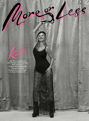 MORE OR LESS Magazine KATE MOSS Chloe Sevigny JAMIE HAWKESWORTH Debut Issue