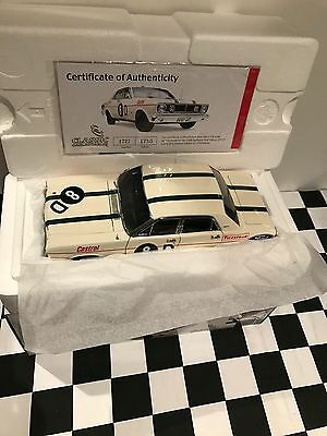 1968 Bathurst XT GT Ford Falcon 1:18 Diecast Raced By Ian & Leo Geoghegan. FAULT
