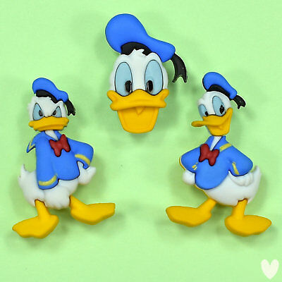 DISNEY Donald Duck 7746 Dress It Up Buttons - Mickey Minnie Mouse