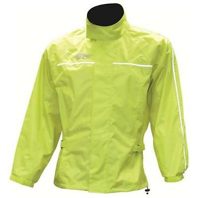 Oxford Rainseal Waterproof Motorcycle Over Jacket Fluro - SALE