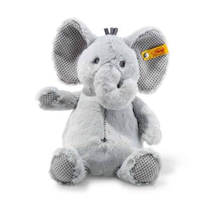 STEIFF 240539 Ellie Elefant 28cm grau Soft Cuddly Friends Baby
