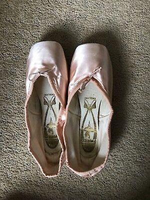 Freed of London pointe shoes, size 5
