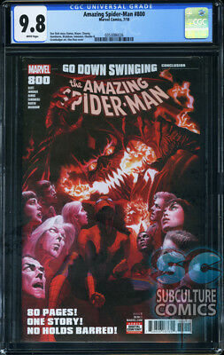Amazing Spider-Man #800 - First Print - Marvel Comics - Cgc 9.8 - 80-Page Finale