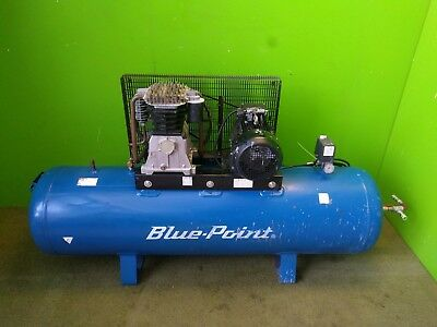 BluePoint Air Compressor Snap On 3 Phase 272 Ltrs