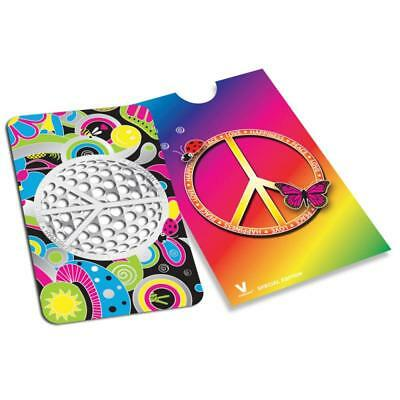 Credit Card Style Grinder Card - Peace Sign