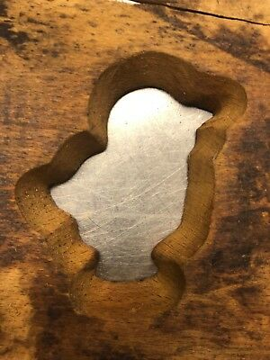 Bird Cut Wood Cookie Die for Triumph Handy Wire Cookie Depositor - 16""