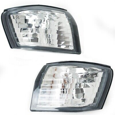 Nissan S14 200sx & Silvia Clear Front Corner Lights - S14a Kouki 96-98 (Pair) -