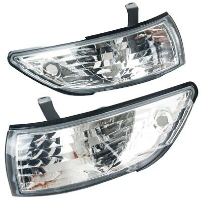 Nissan Silvia PS13 Clear Front Corner Lights 88-93 (Pair) -
