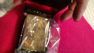 1995 Camel Zippo lighter unused brass with box and seal