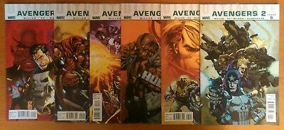 Ultimate Avengers 2  #1 to 6 - Marvel Comics Complete Set