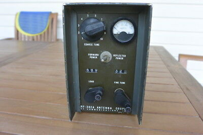 HARRIS RF-302A HF Antenna tuner coupler Amateur Radio