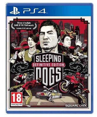 Sleeping Dogs - Definitive Edition Videogioco Ps4 Gioco Play Station 4 Italiano