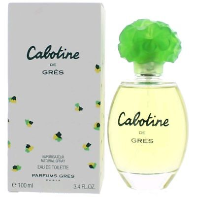 Cabotine Perfume by Parfums Gres, 3.4 oz EDT Spray for women. NEW