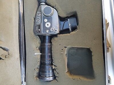 Beaulieu 4008ZM II Super 8 Movie Film Camera, Untested AS IS  with case