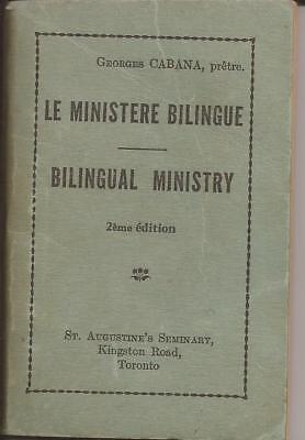 VINTAGE BILINGUAL MINISTRY BOOKLET by G. CABANA