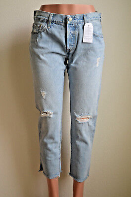4346967f Levi's 501® Cropped Taper Jeans for Women Bowie Blue NWT Style 361900003
